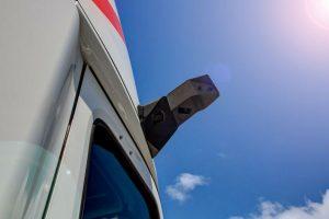 Las avanzadas cámaras Mirror Eye sustituyen al espejo retrovisor común que fácilmente se puede dañar